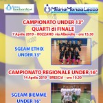Under 13 Ethix e Under 16 Biemme